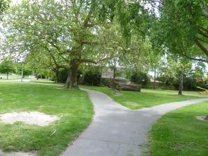 All quiet at Waiwetu Park