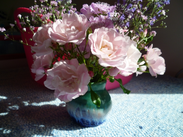 Blossom and bucket
