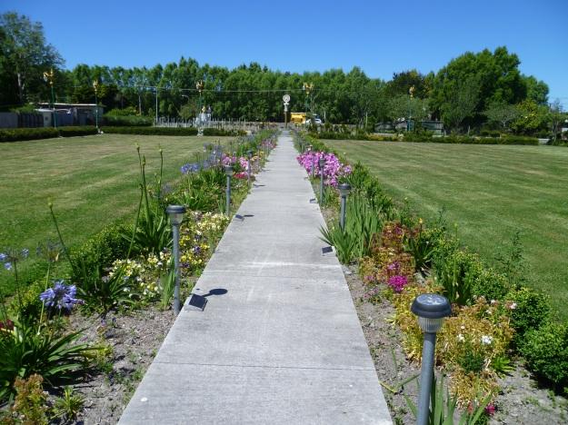 Towards the Rose Garden