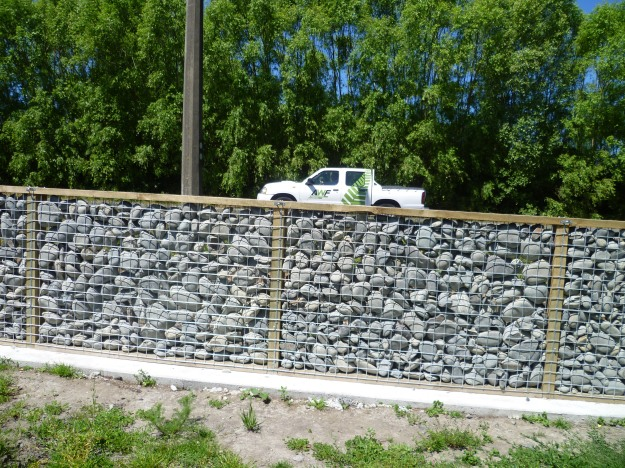 New version of a stone wall