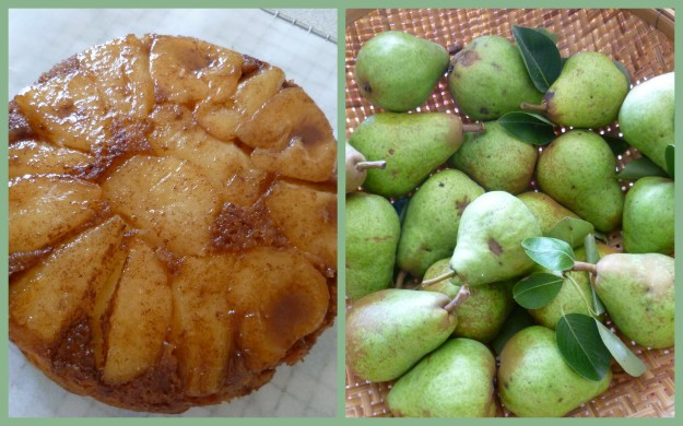 Cake appears from Pears