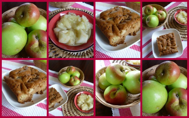 Cake + Apple = Apple Cake