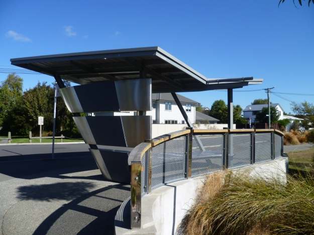 A beautiful bus stop!