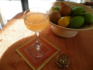 or Pear and Medlar juice