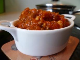 Lentil-mushroom pasta sauce