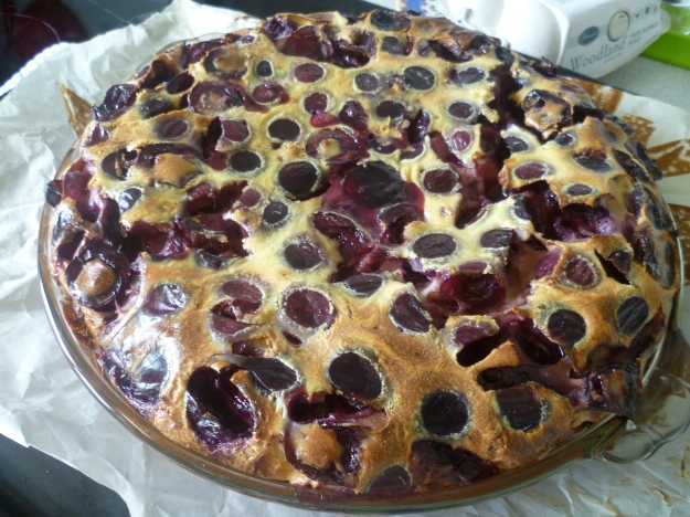 You're an amazing clafouti :)