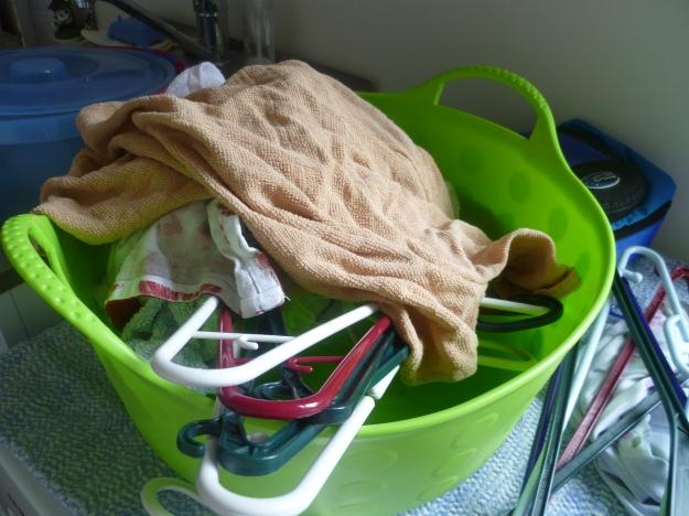 Washing a waiting