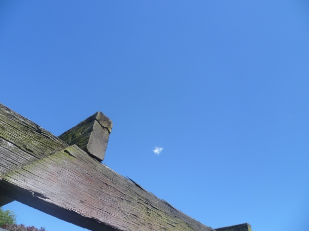 Heavenly blue sky for Epiphany