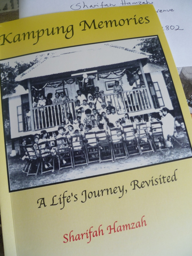 Kampung Memories by Sharifah Hamzahhttp://silkannthreades.wordpress.com/2014/02/28/in-other-news-of-caterpillars-and-kindnesses/