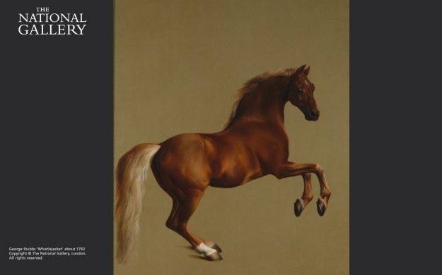 Whistlejacket, George Stubbs, about 1762