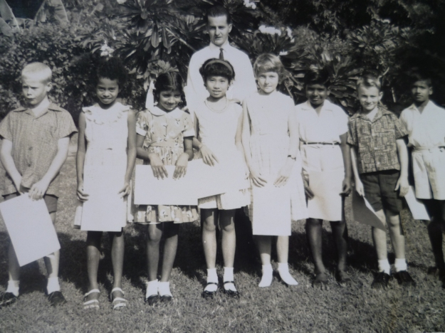 Mr Hodge's Sunday School Class 1964