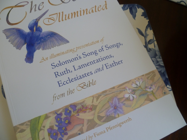 The Scrolls Illuminated, illustrated by Fiona Pfenningwerth