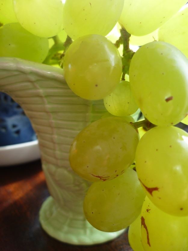 Grapes to eat, wine to drink