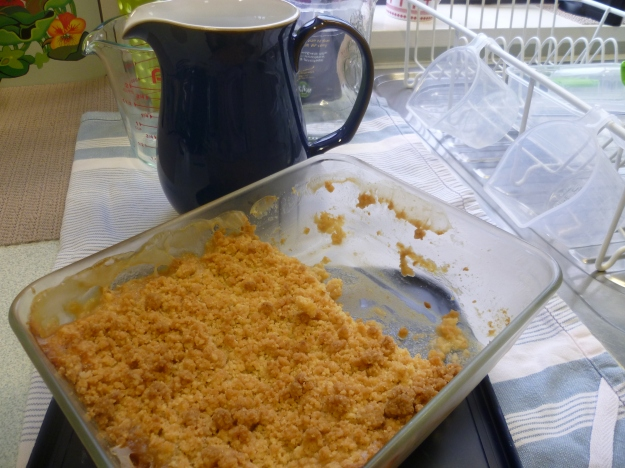 Comfort Crumble in the Kitchen