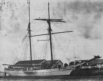 Amelia Sims, the scow built and named for my great great grandmother, formerly of the Isle of Wight