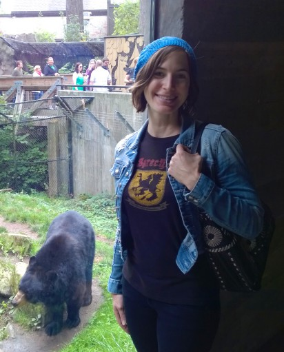 Britt at Oregon Zoo
