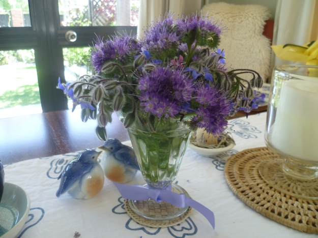 Eye candy for humans, real candy for bees:  borage and phacelia