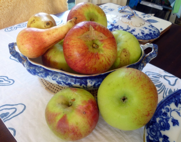 What would my Bramley ancestors make of these apples http://en.wikipedia.org/wiki/Gravenstein in her serving dish?