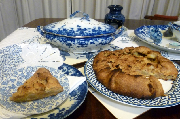 Crostatahttp://www.foodnetwork.com/recipes/ina-garten/apple-crostata-recipe.html meets Chintz, Felicity, Vermont and Williamsburg
