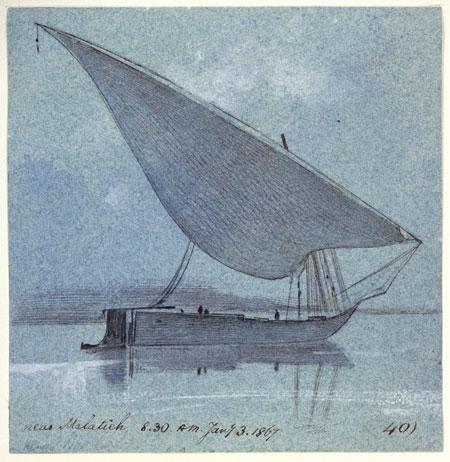 Edward Lear, near Malatieh, 1867.