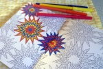 Mindful colouring by Gallivanta