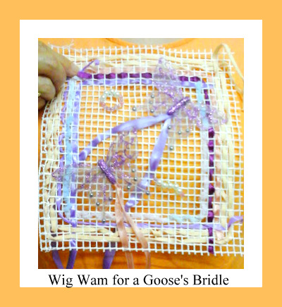 'A wigwam for a goose's bridle' April 2016